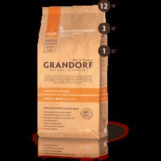 Grandorf Низкозерновой корм ягнёнок с рисом для юниоров