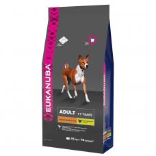 EUK Dog корм для взрослых собак средних пород 15 кг