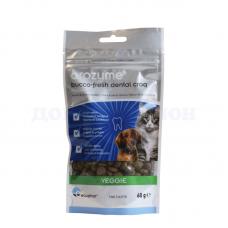 Жевательные крекеры Orozyme® для кошек и собак 60г