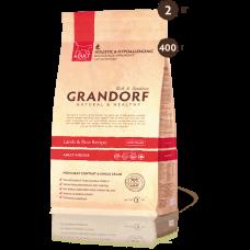Grandorf Сухой низкозерновой корм ягнёнок с рисом indoor