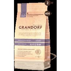 Grandorf Сухой низкозерновой корм кролик с рисом sterilised