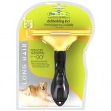 FURminator L для собак крупных длинношерстных пород Long Hair Large Dog 10 см
