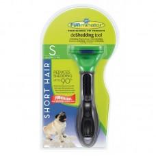 FURminator S для собак мелких короткошерстных пород Short Hair Small Dog 4 см