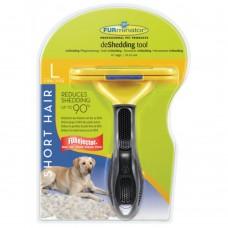 FURminator L для собак крупных короткошерстных пород Short Hair Large Dog 10 см