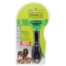 Furminator S для собак мелких длинношерстных пород long hair small dog carbon design 4 см