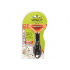 Furminator M для собак средних длинношерстных пород long hair medium dog 7 см