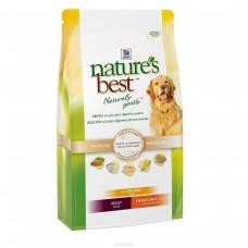 Хиллс (Hill's) Nature's Best Для взрослых собак крупных пород с курой и овощами