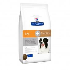 Хиллс (Hill's) k/D для собак заболевание почек + суставы