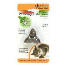 """Petstages игрушка для кошек Dental """"Листик"""" из прессованных листьев кошачьей мяты"""