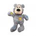 """Kong игрушка для мелких собак WildKnots """"Мишка"""" плюш с канатом внутри 18 см"""