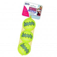 """Kong игрушка для собак air """"теннисный мяч"""" очень маленький (в упаковке 3 шт.)"""