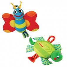 """Petstages игрушка для собак текстиль """"бабочка и черепашка"""" в ассортименте"""