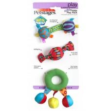 Petstages набор игрушек для собак mini текстильные 3 шт.