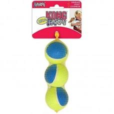 Kong Ultra Squeak мячик средний 3 шт. в уп. 6 см