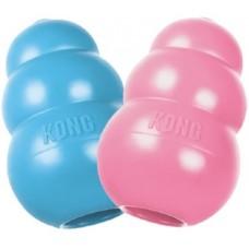 KONG Puppy игрушка для щенков классик S 7x4 см маленькая цвета в ассортименте: