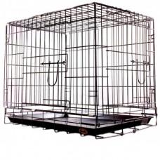 Клетка для домашних животных хромированная 93х57х64 043CC