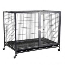 Клетка для собак на колесах 109,5х70х89,5