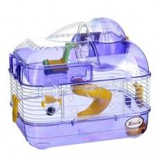 Клетка для хомяков в подарочной упаковке 33,5х25х28