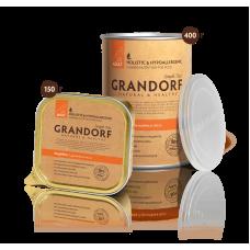 Grandorf Влажный корм индейка для взрослых собак всех пород