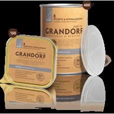 Grandorf Влажный корм кролик для взрослых собак всех пород