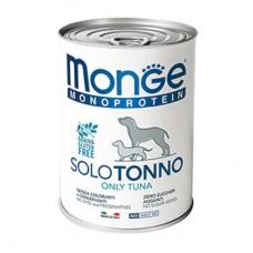 Monge Dog Monoproteico Solo консервы для собак паштет из тунца 400 г