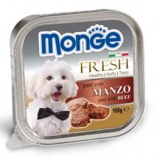 Monge Dog Fresh говядина 100 г