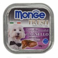 Monge Dog Fresh ягненок 100г