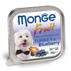 Monge Dog Fruit индейка с черникой 100 г