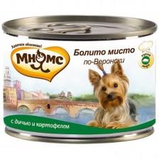 Мнямс Консервы Для Собак Болито Мисто По-веронски (Дичь С Картофелем) 200 Г