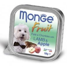 Monge Dog Fruit ягненок с яблоком 100 г