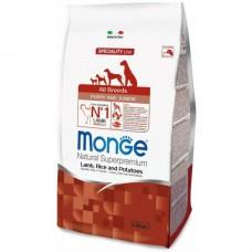 Monge Dog Speciality Puppy&Junior корм для щенков всех пород ягненок с рисом