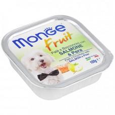 Monge Dog Fruit лосось с яблоком 100 г