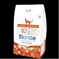 Monge Cat корм для пожилых кошек 400г