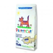 """Prettycat наполнитель древесный для кошачьих туалетов """"wood granules"""" 10 кг"""