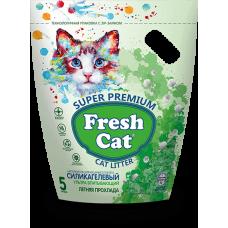 Наполнитель силикагелевый Fresh Cat® Летняя прохлада