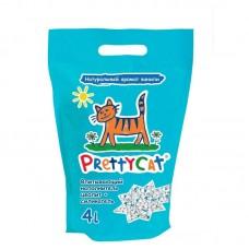 """PrettyCat глиняный впитывающий с део-кристаллами """"Aroma Fruit"""" 2 кг (4 литра)"""
