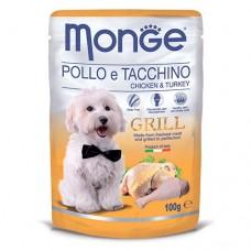 Monge Dog Grill курица с индейкой 100 г
