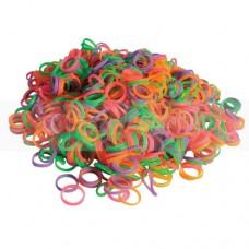 Латексные резиночки Show Tech разноцветные, 1000 шт.