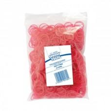 Резиночки для папильоток Show Tech ярко-розовые, 1000 шт.
