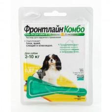 Merial Фронтлайн Комбо Для Собак 2-10 Кг S Пипетка 0,67 Мл